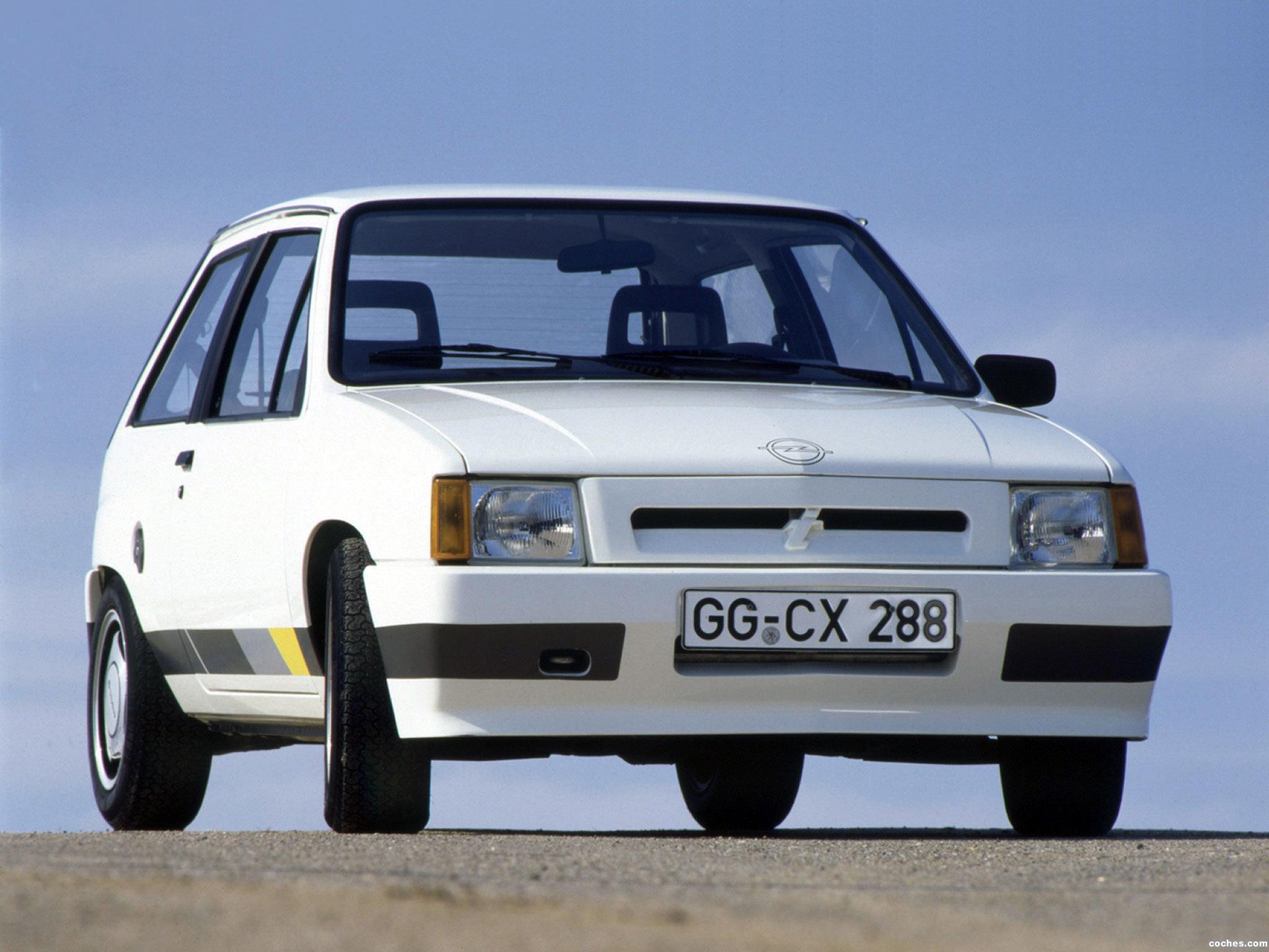 Foto 0 de Opel Corsa A Sprint C 1985