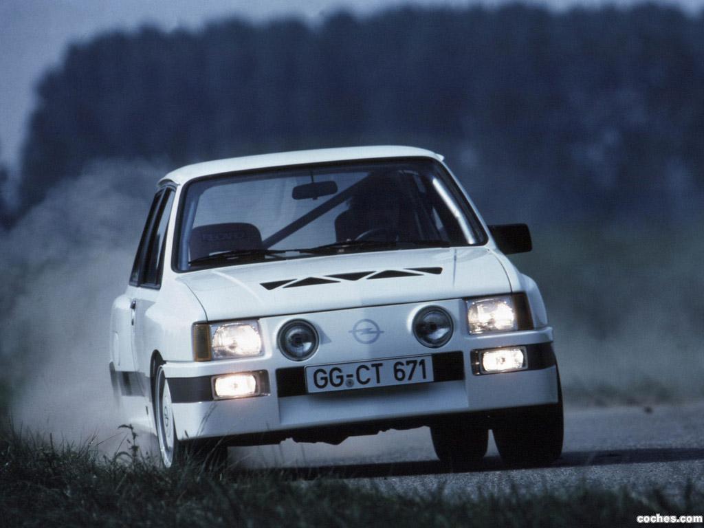 Foto 0 de Opel Corsa A Sprint Gr. B Prototype 1983