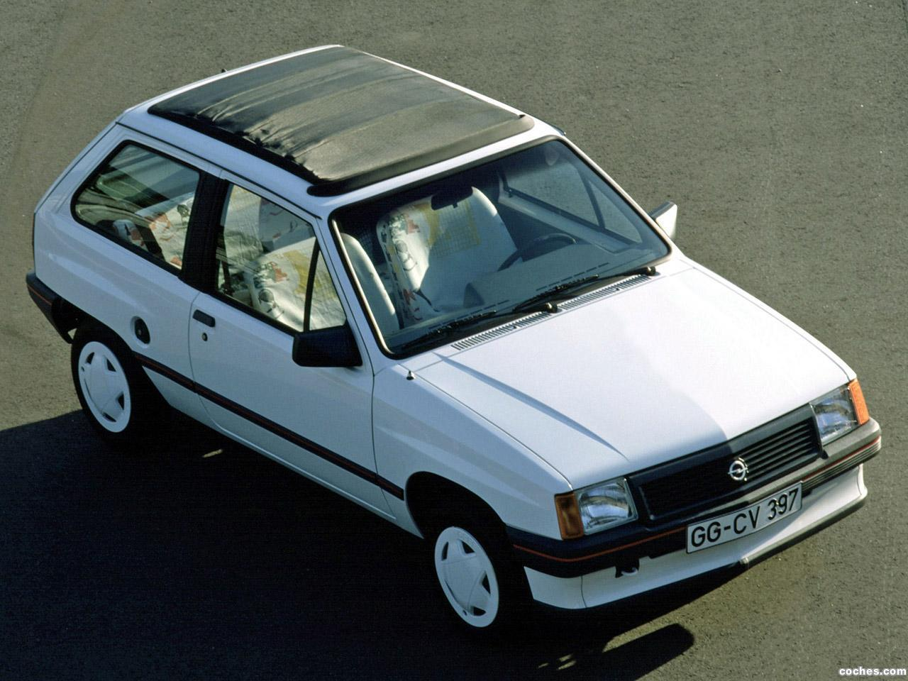 Foto 0 de Opel Corsa A Steffi Graf Special 1986
