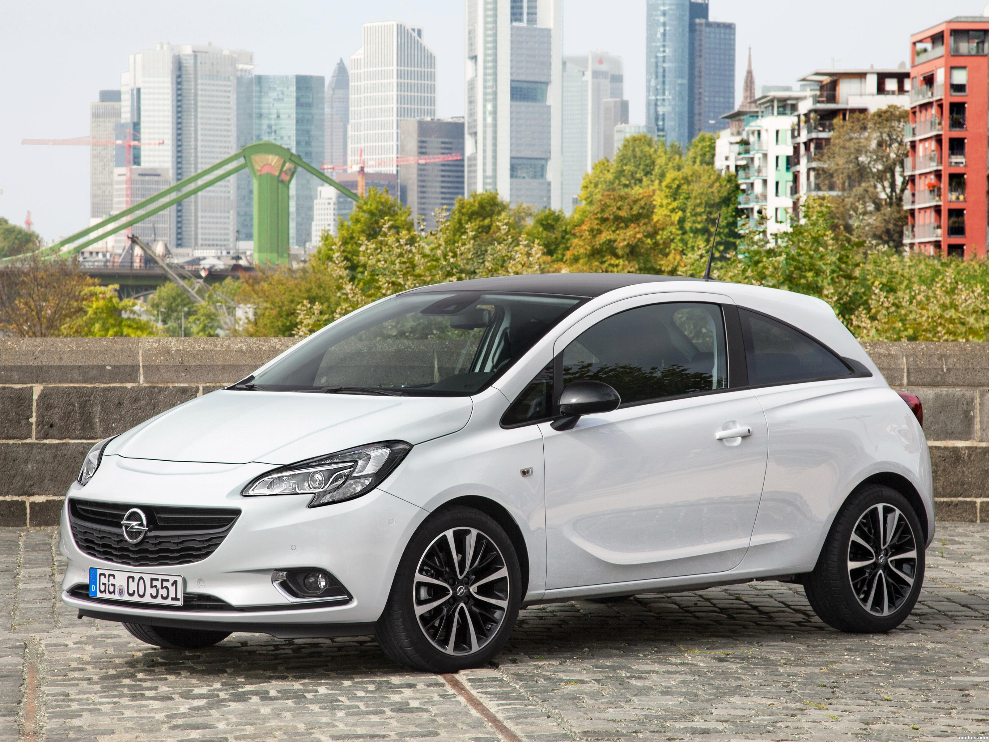 fotos de opel corsa 3 puertas color edition 2015 foto 1