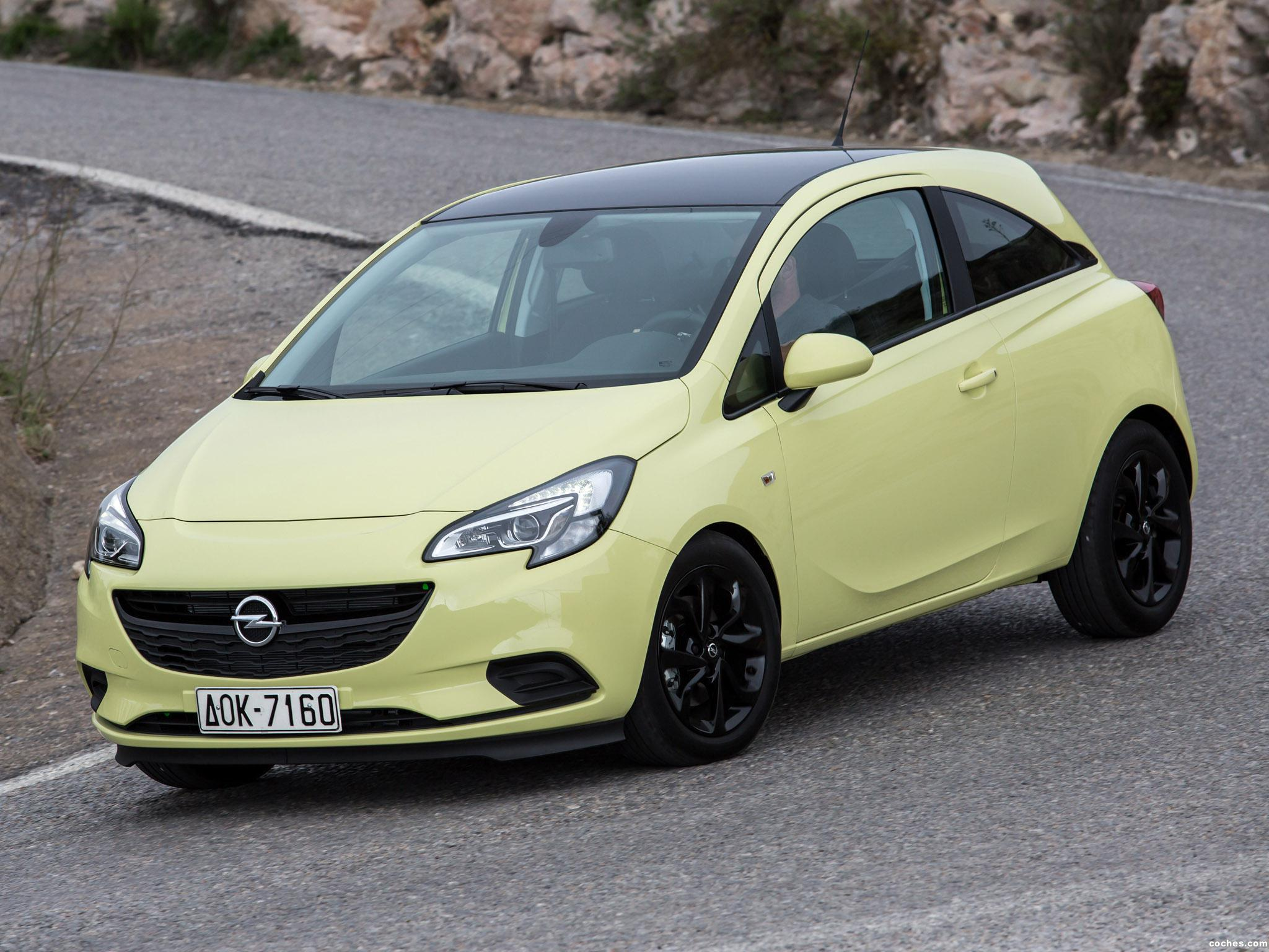 Foto 2 de Opel Corsa Color Edition EcoFlex 3 puertas 2014