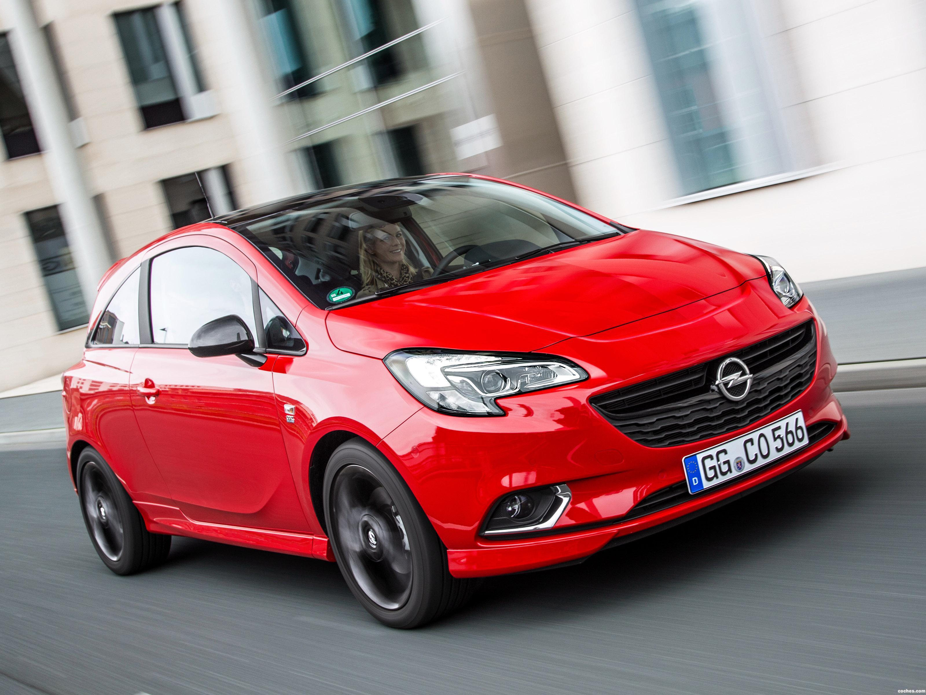 Foto 0 de Opel Corsa 3 puertas Color Edition Opc Line 2015