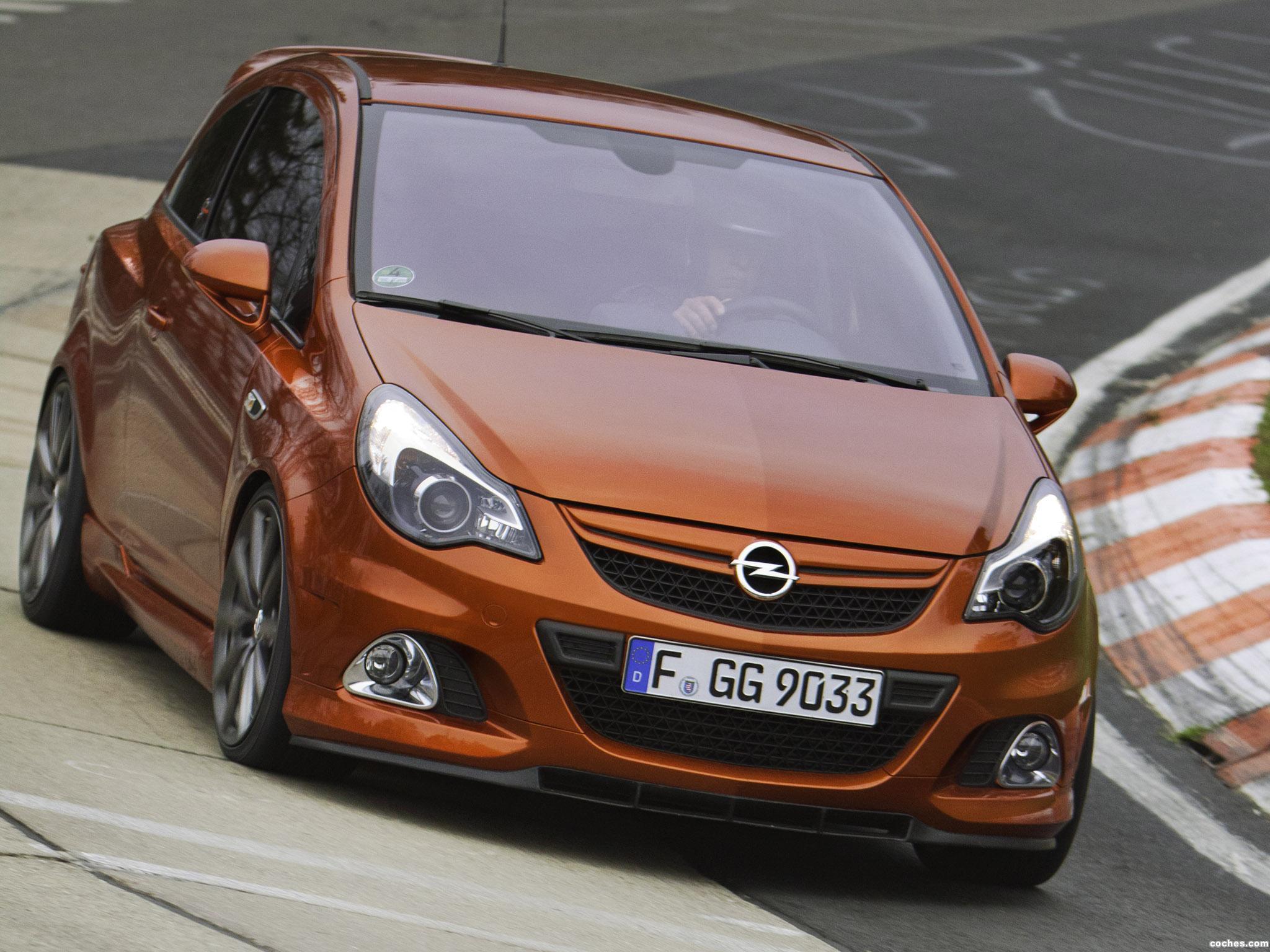 Foto 0 de Opel Corsa OPC Nurburgring Edition 2011