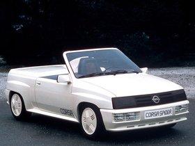 Ver foto 4 de Opel Corsa Spider Concept 1982
