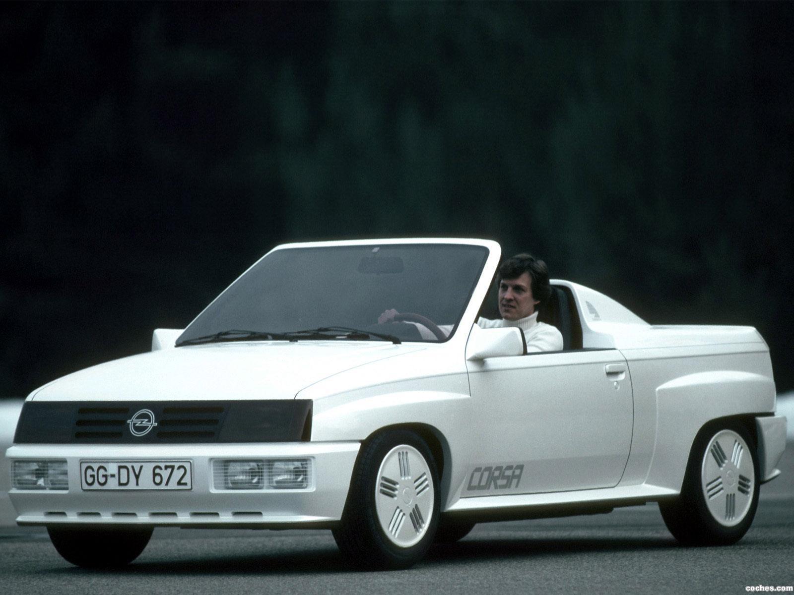 Foto 0 de Opel Corsa Spider Concept 1982