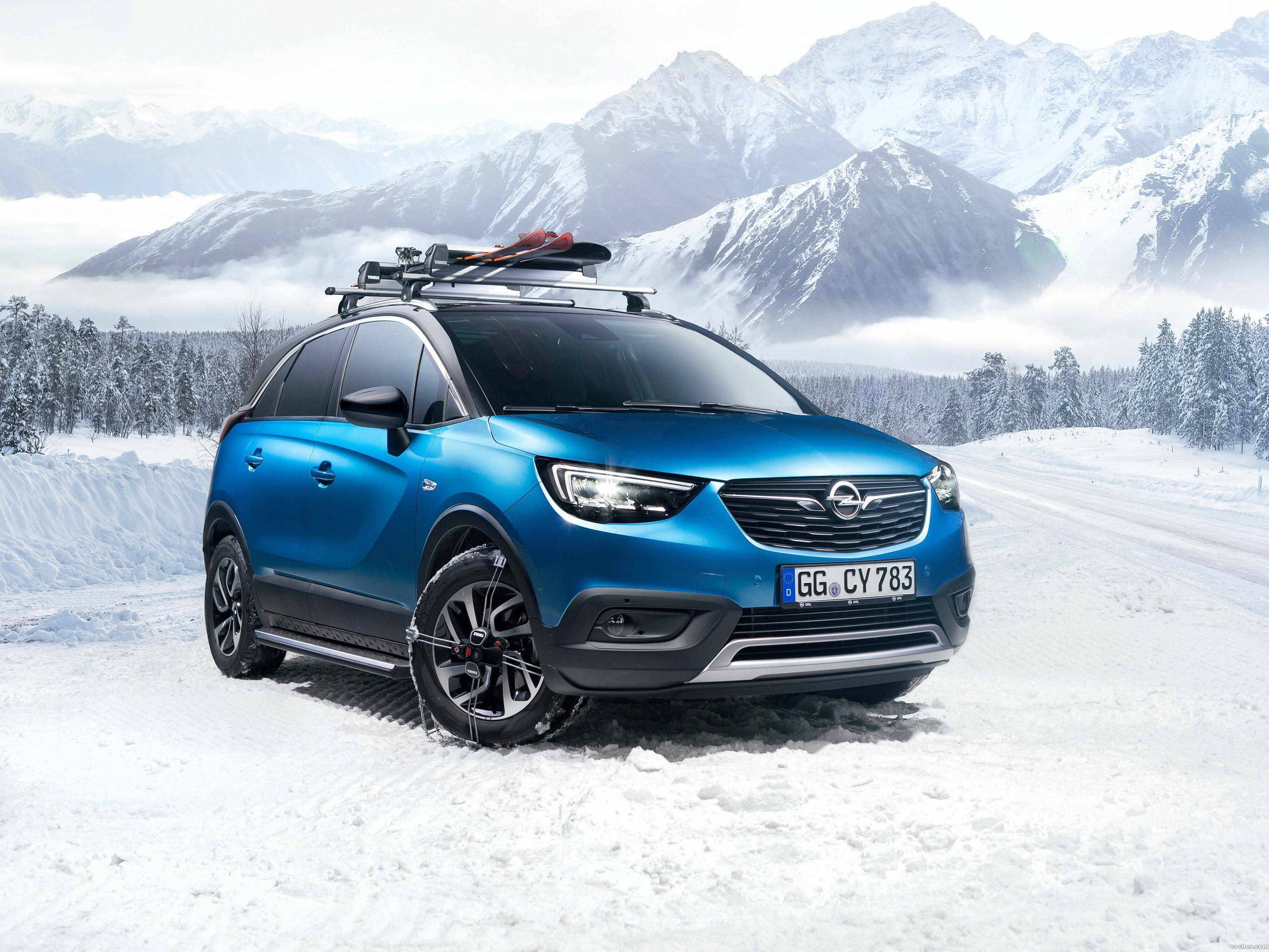 Foto 0 de Opel  Crossland X Turbo  2018