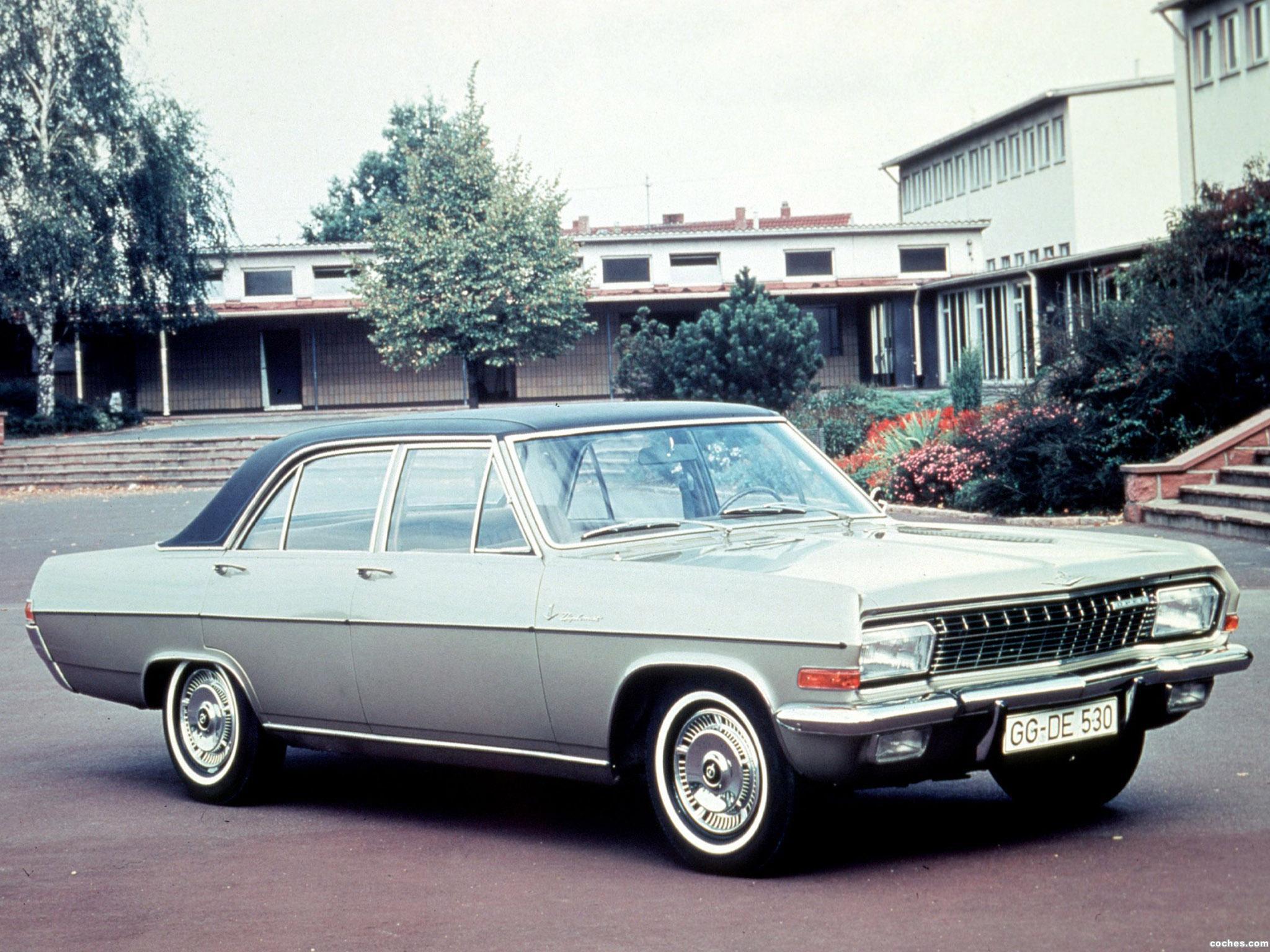 Foto 0 de Opel Diplomat A 1964