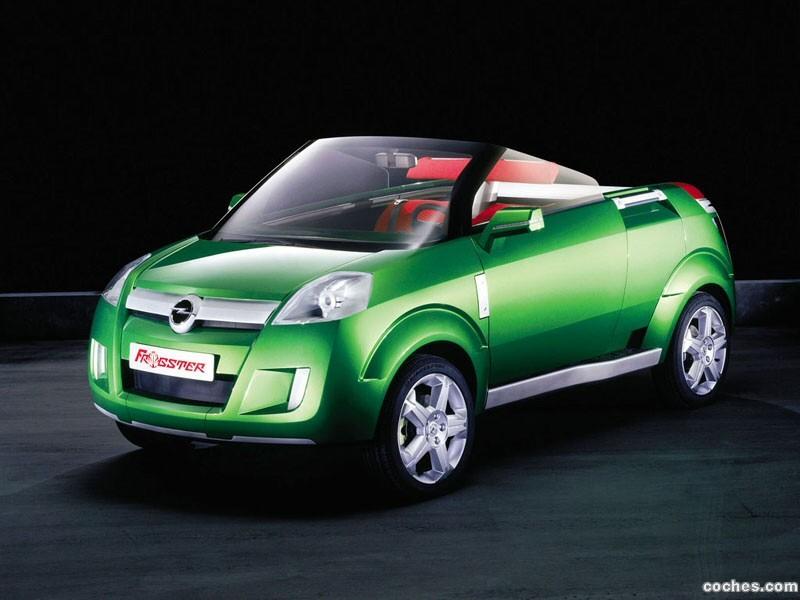 Foto 0 de Opel Frogster Concept 2001