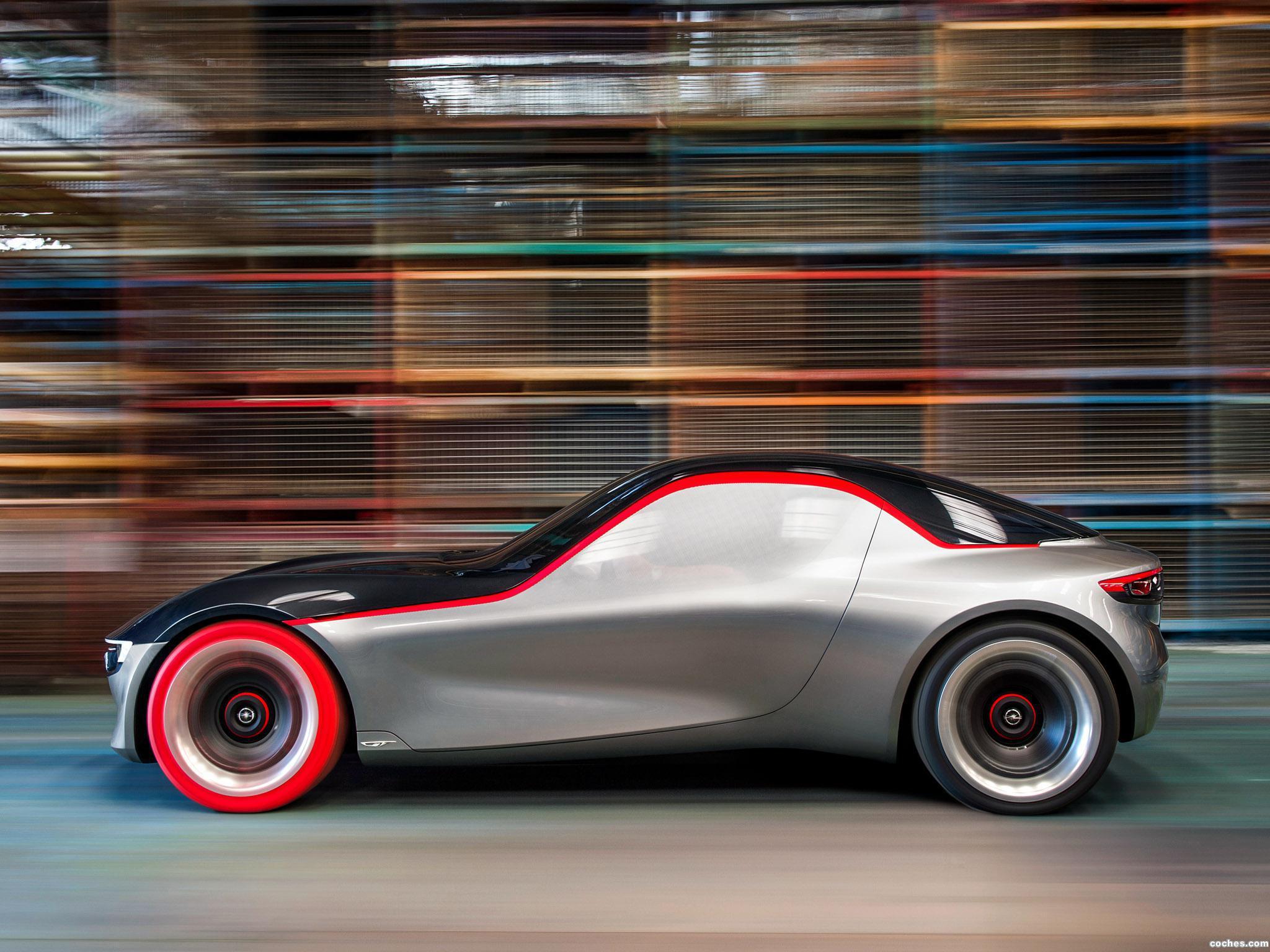 Foto 4 de Opel GT Concept 2016