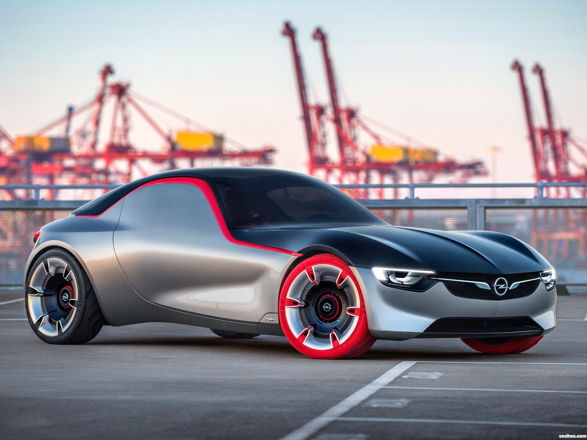 Foto 2 de Opel GT Concept 2016