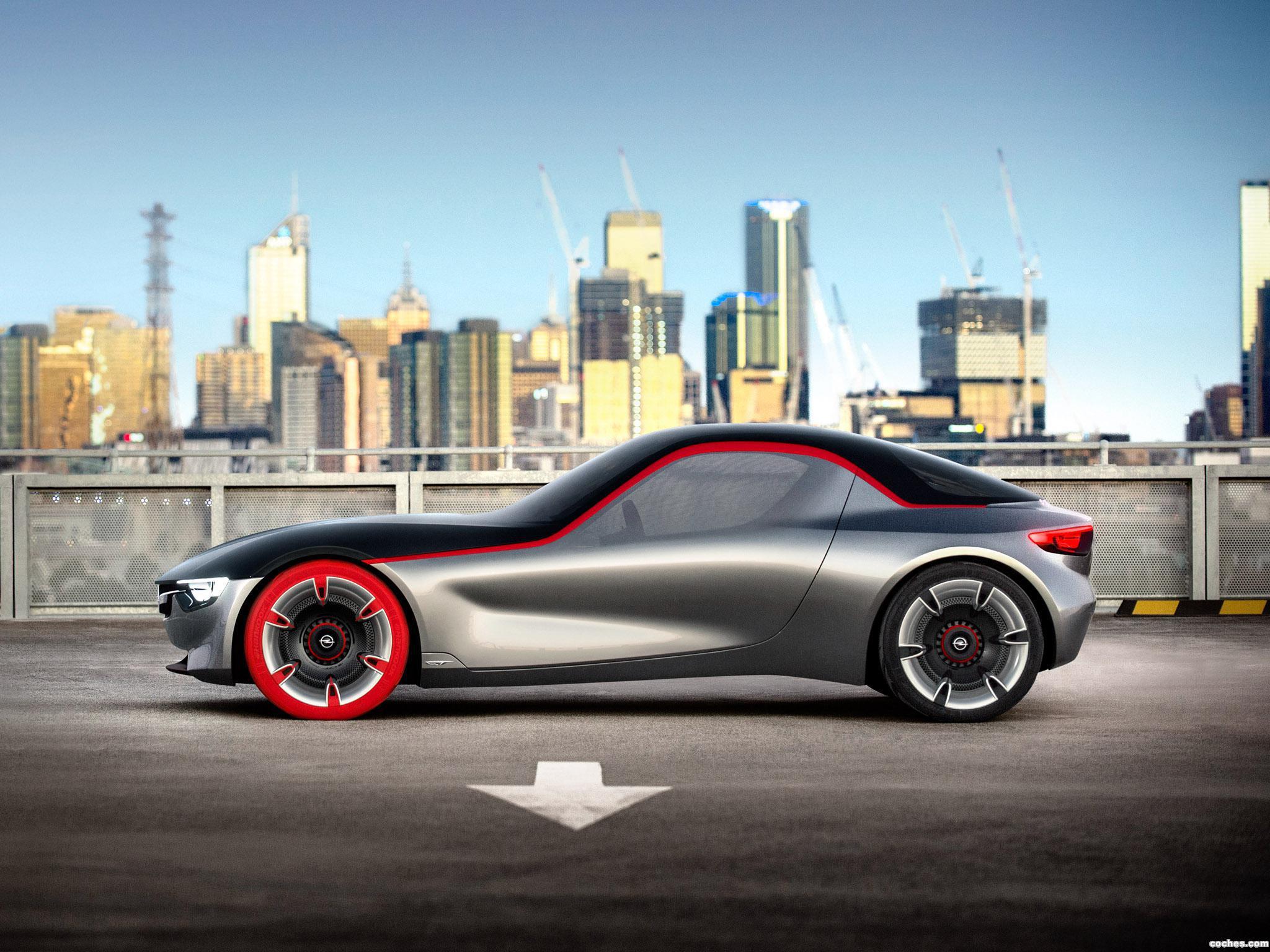 Foto 12 de Opel GT Concept 2016