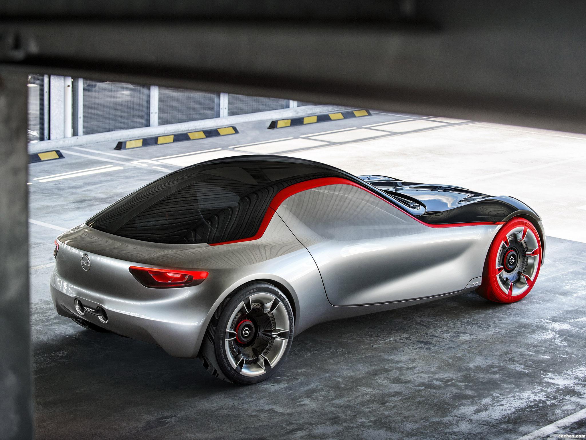 Foto 17 de Opel GT Concept 2016