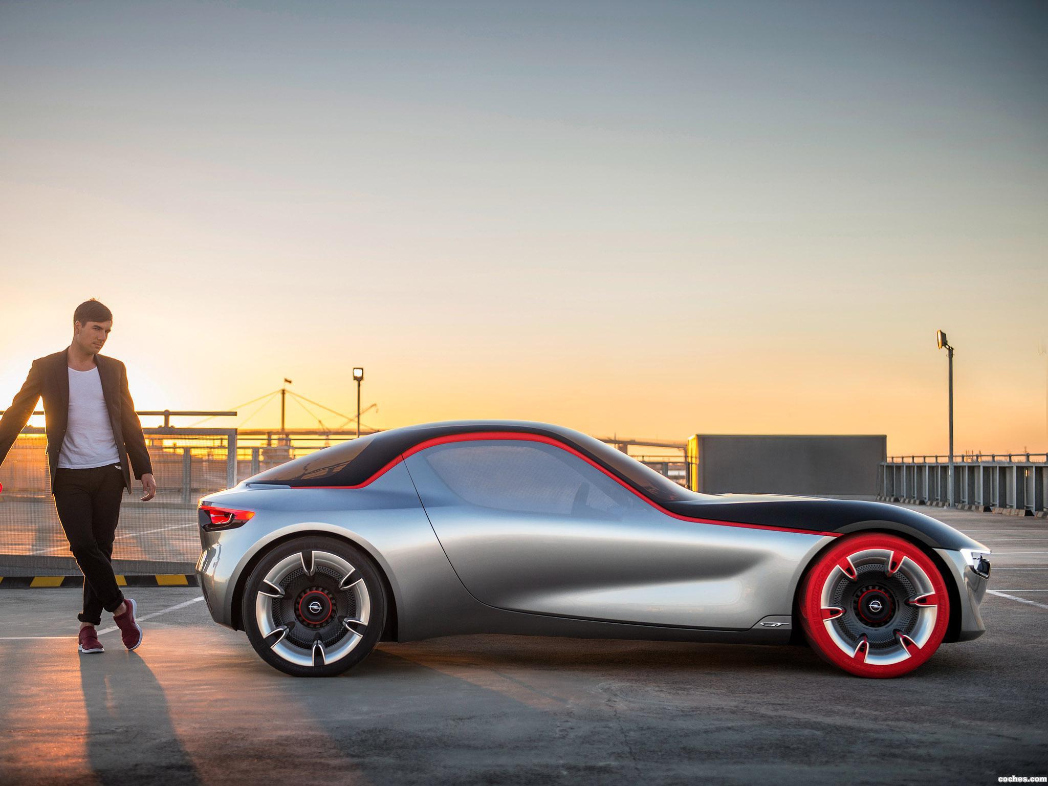 Foto 15 de Opel GT Concept 2016