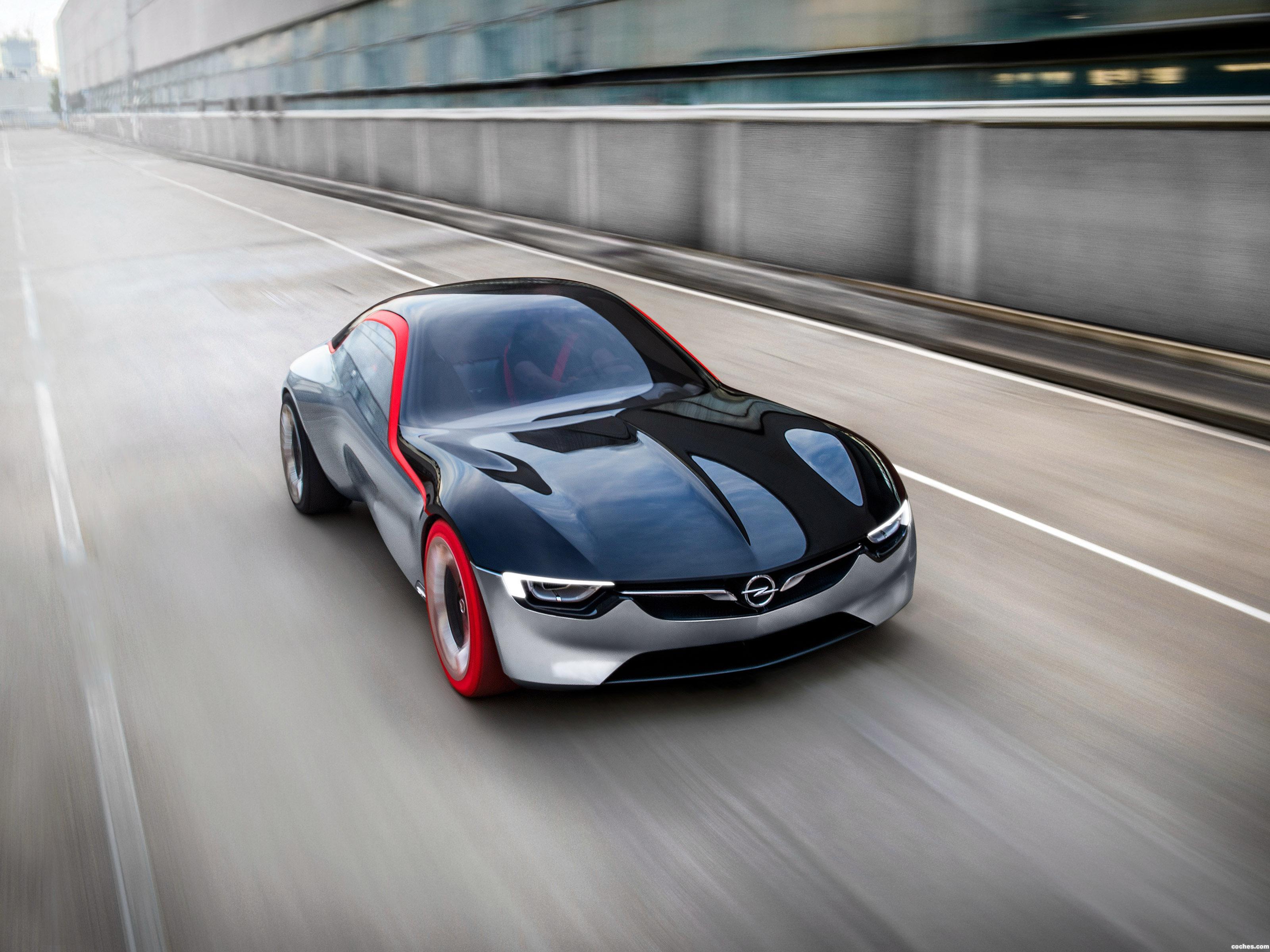 Foto 14 de Opel GT Concept 2016