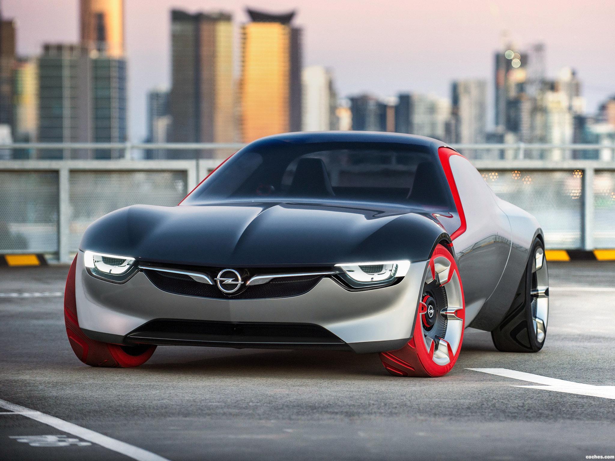 Foto 11 de Opel GT Concept 2016