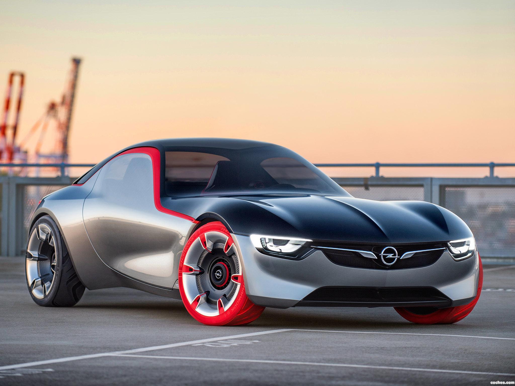 Foto 8 de Opel GT Concept 2016