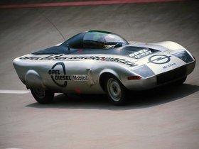 Ver foto 3 de Opel GT Diesel Sport Car Concept 1972