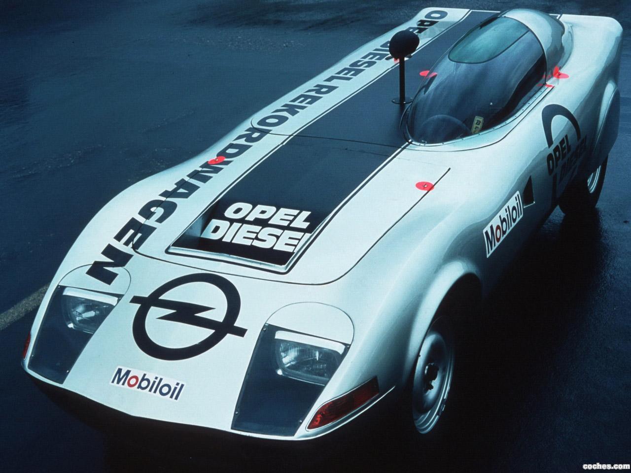 Foto 0 de Opel GT Diesel Sport Car Concept 1972