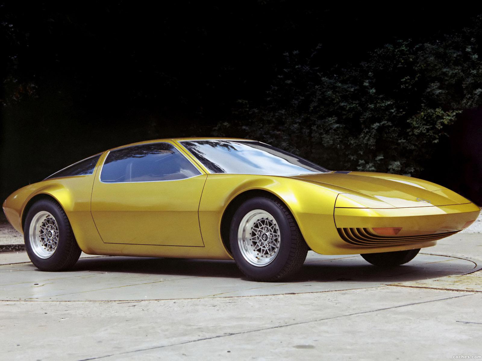 Foto 0 de Opel GT-W Geneve Concept 1975