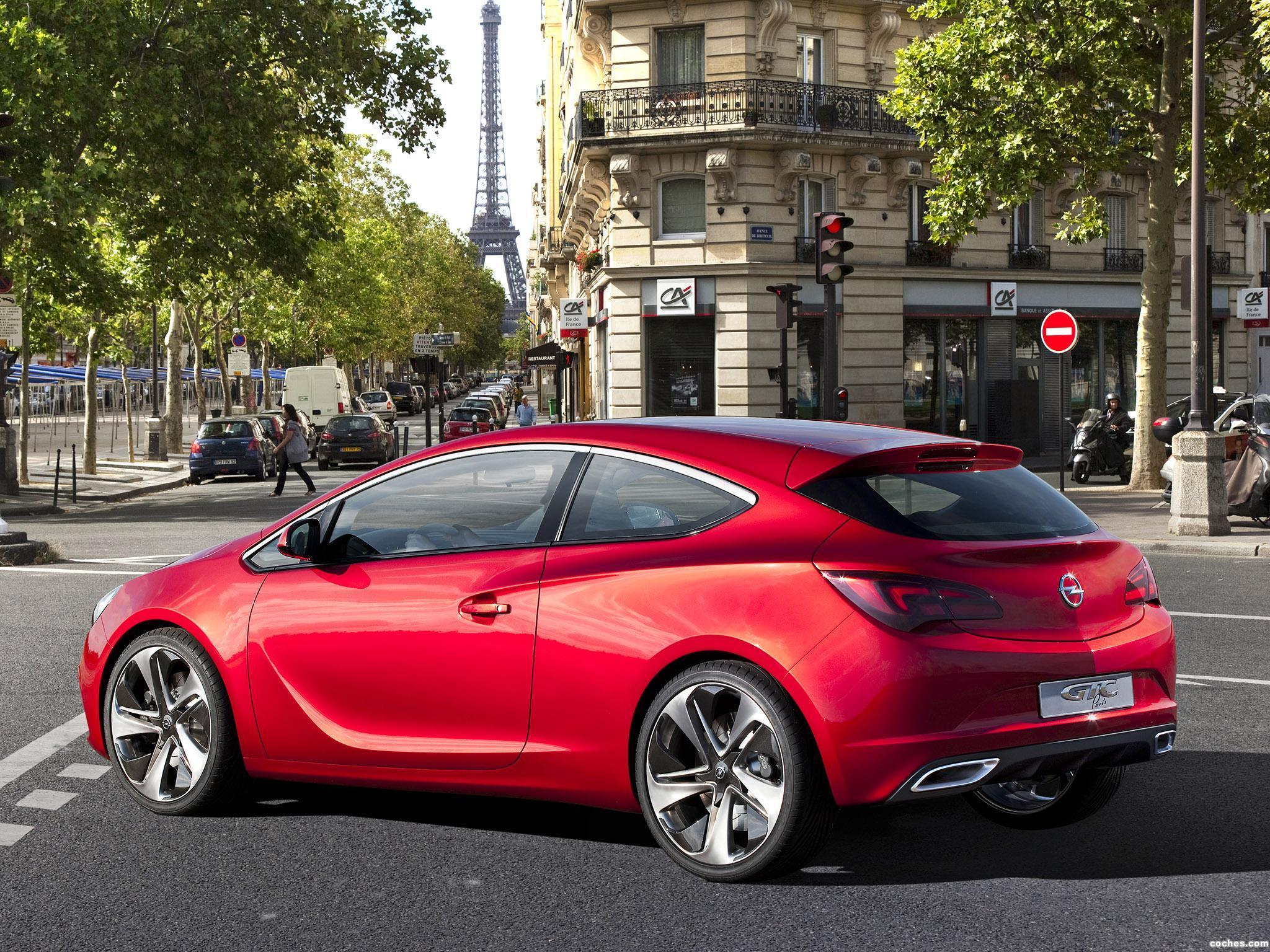 Foto 19 de Opel GTC Paris Concept 2010