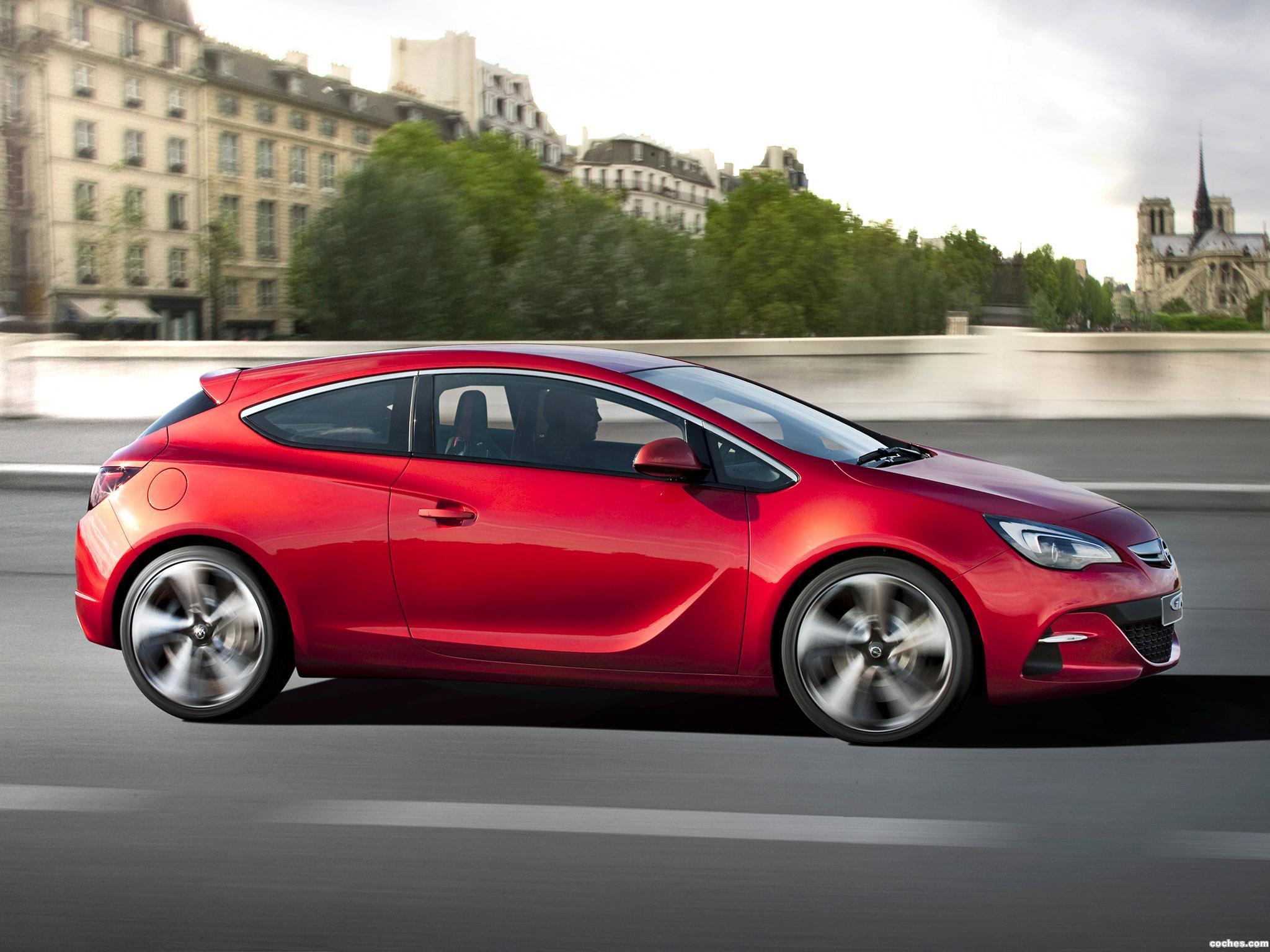 Foto 16 de Opel GTC Paris Concept 2010