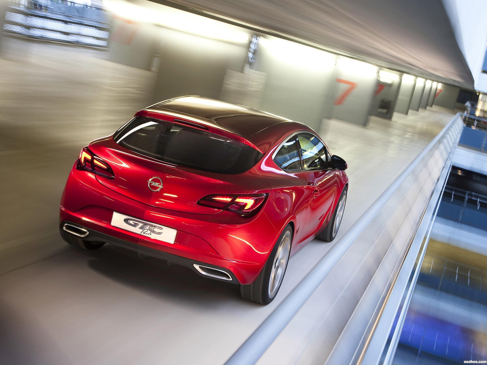 Foto 11 de Opel GTC Paris Concept 2010