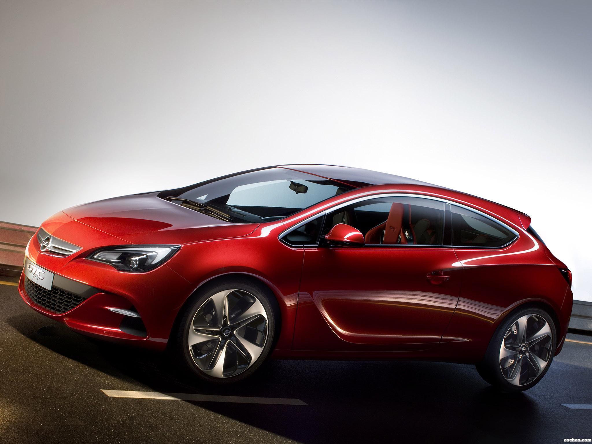 Foto 0 de Opel GTC Paris Concept 2010