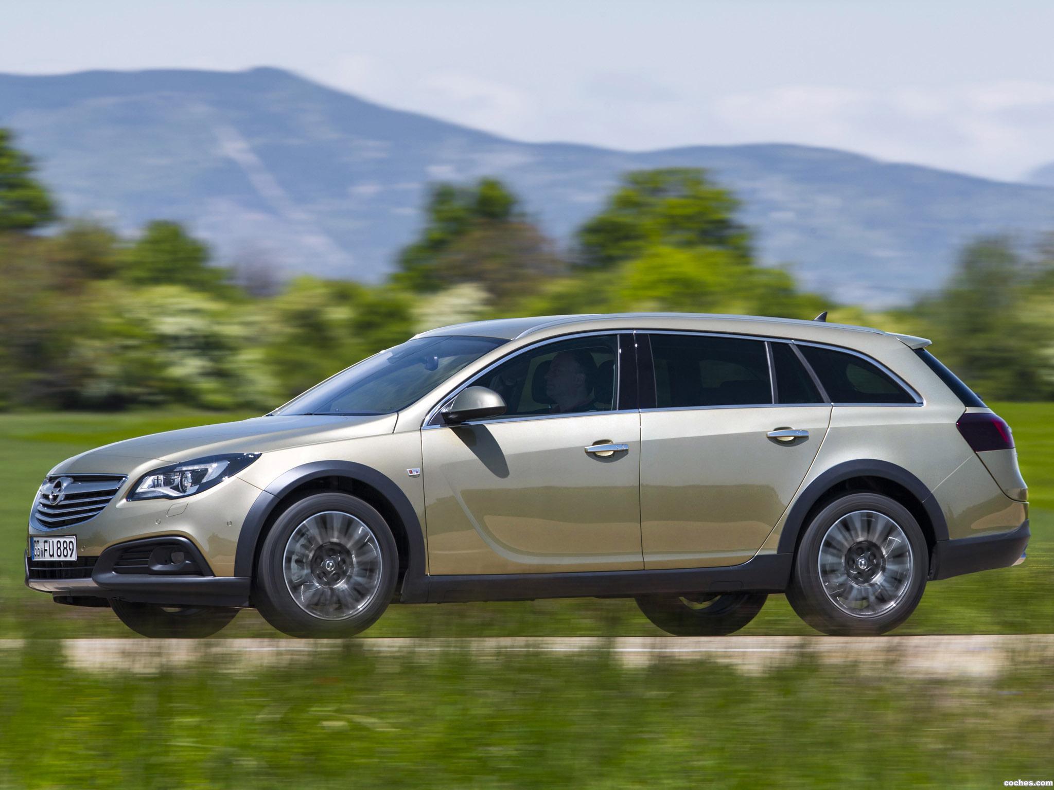 Foto 6 de Opel Insignia Country Tourer 2013