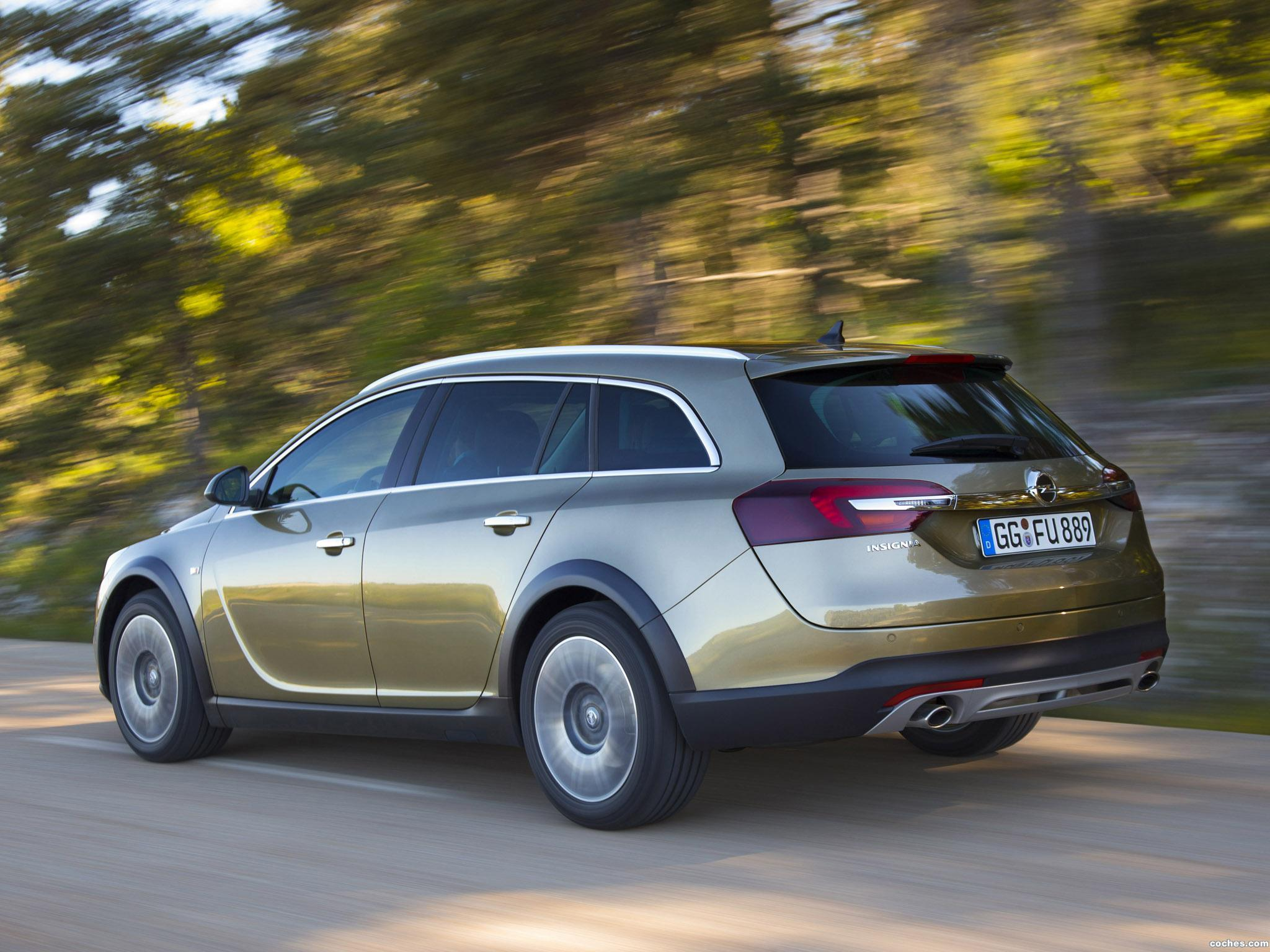 Foto 5 de Opel Insignia Country Tourer 2013