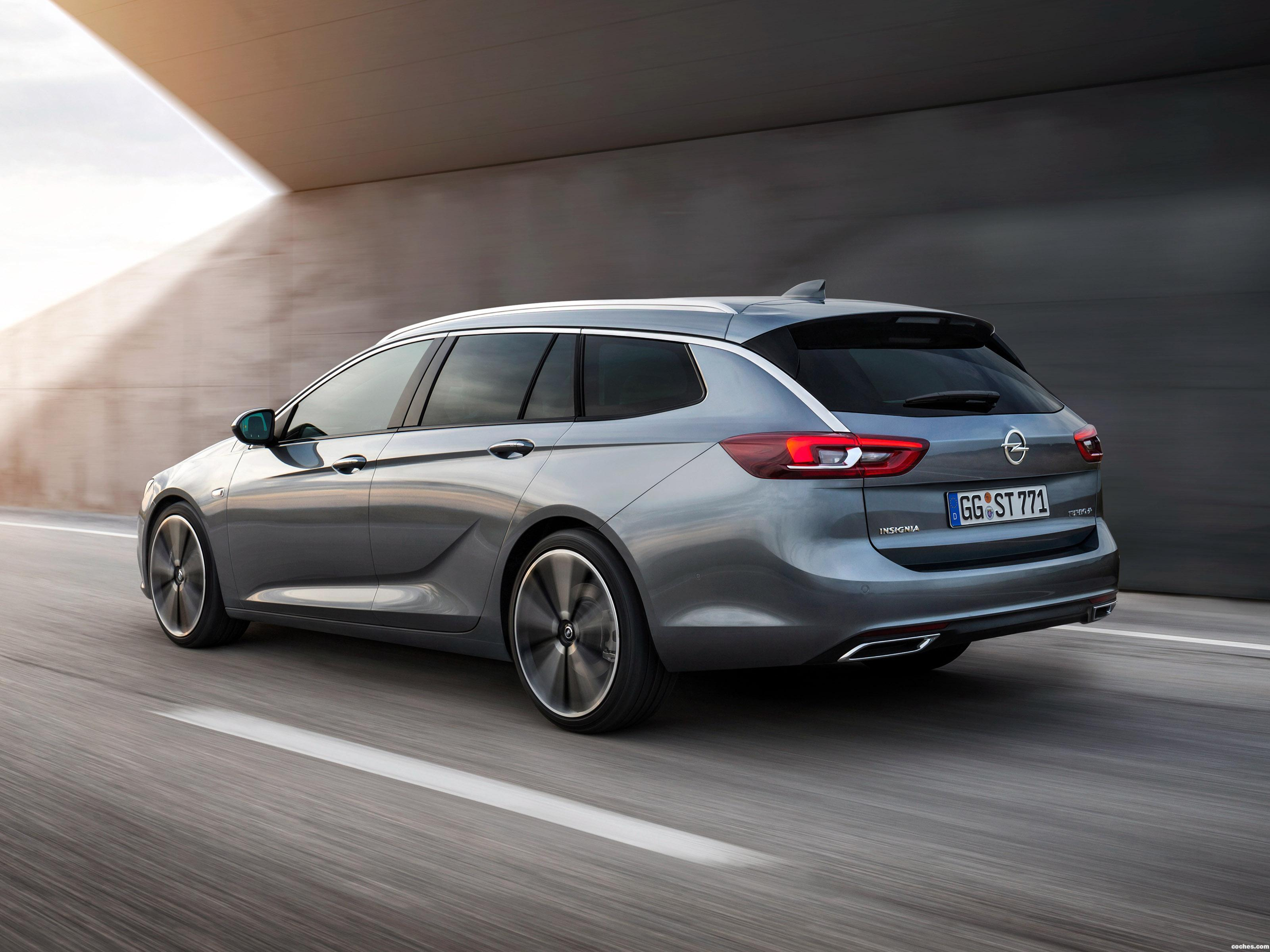 Foto 4 de Opel Insignia Sports Tourer Turbo 4×4 2017