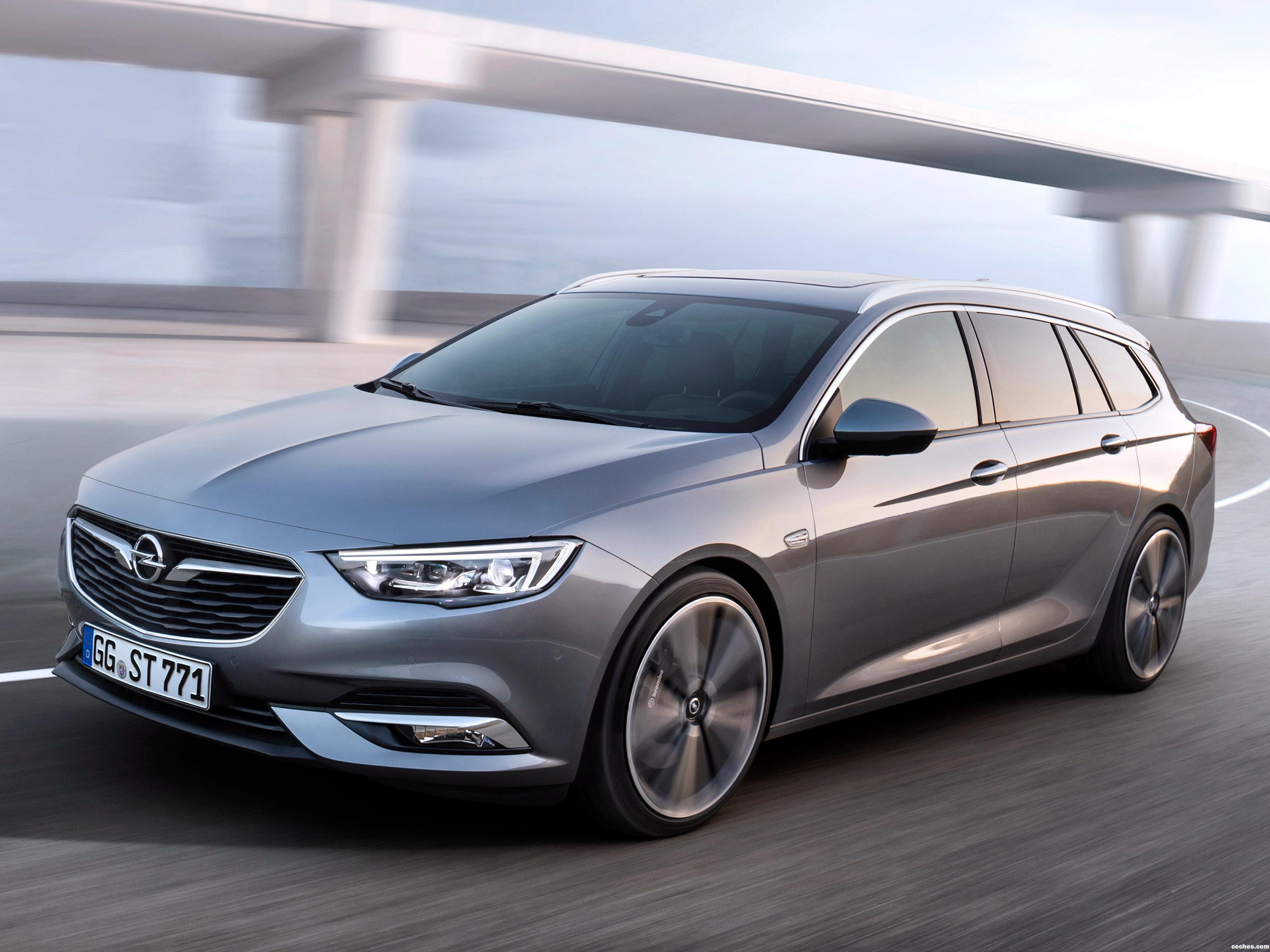 Foto 0 de Opel Insignia Sports Tourer Turbo 4×4 2017