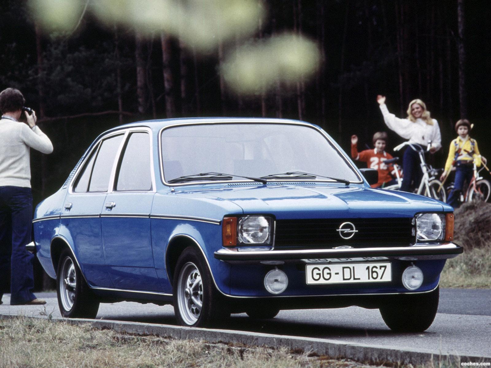 Foto 0 de Opel Kadett C 4 puertas Sedan 1977