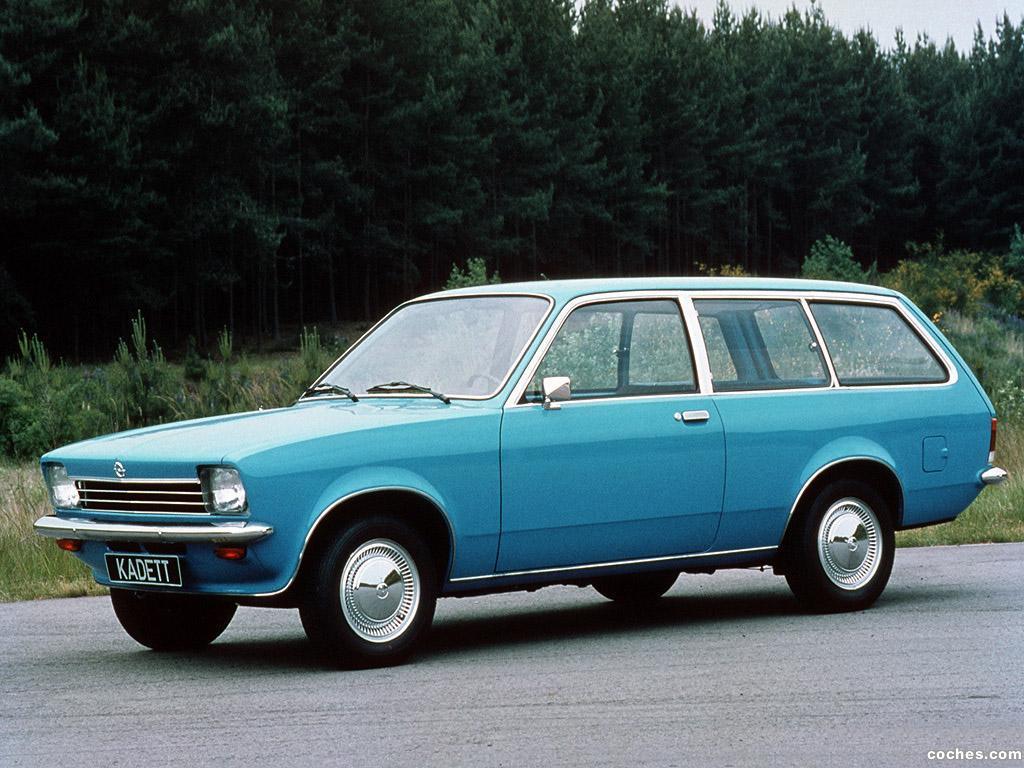 Foto 0 de Opel Kadett C Caravan 1973