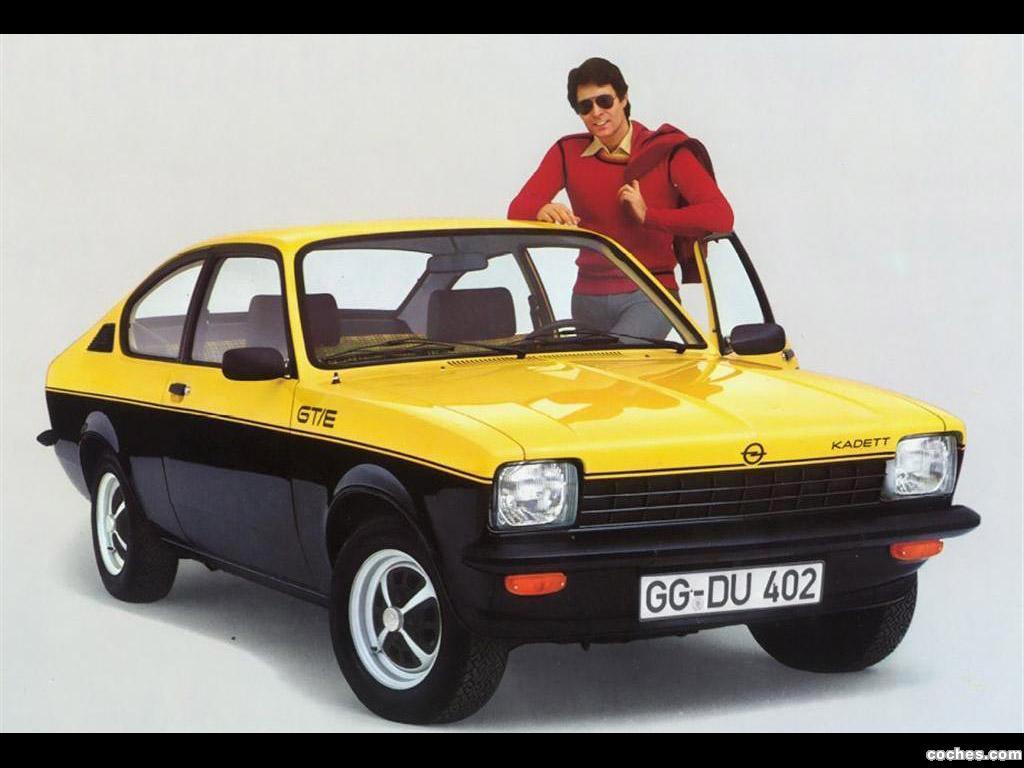 de Opel kadett c gt-e