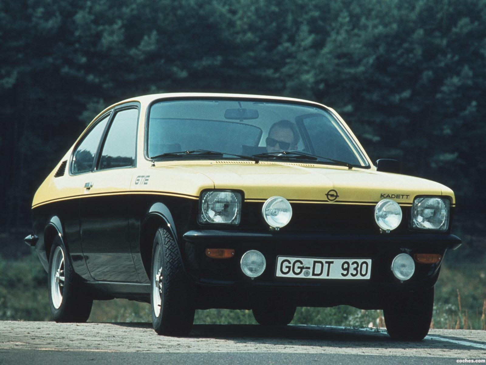 Foto 0 de Opel Kadett C GT-E 1975