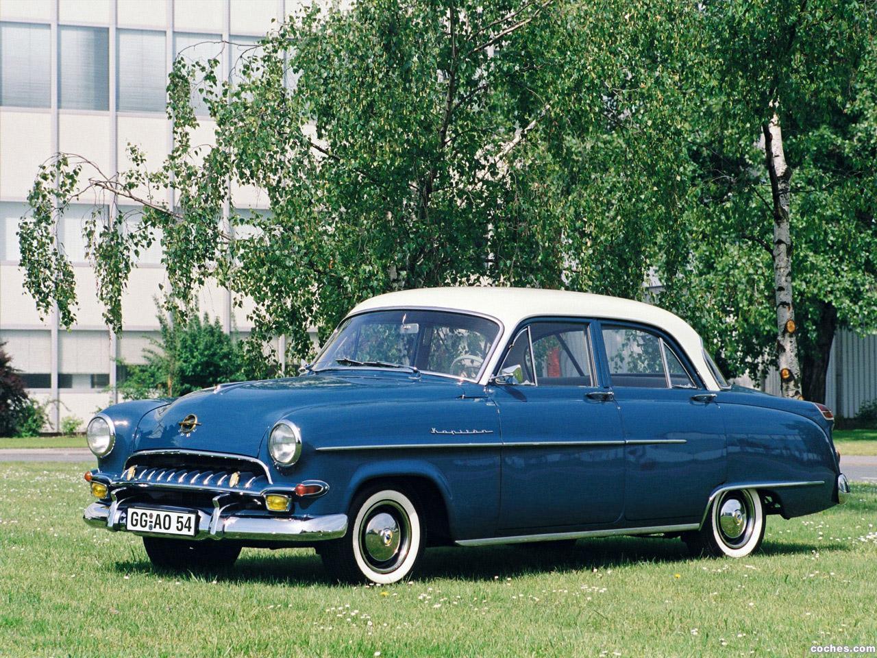 Foto 0 de Opel Kapitan 1953