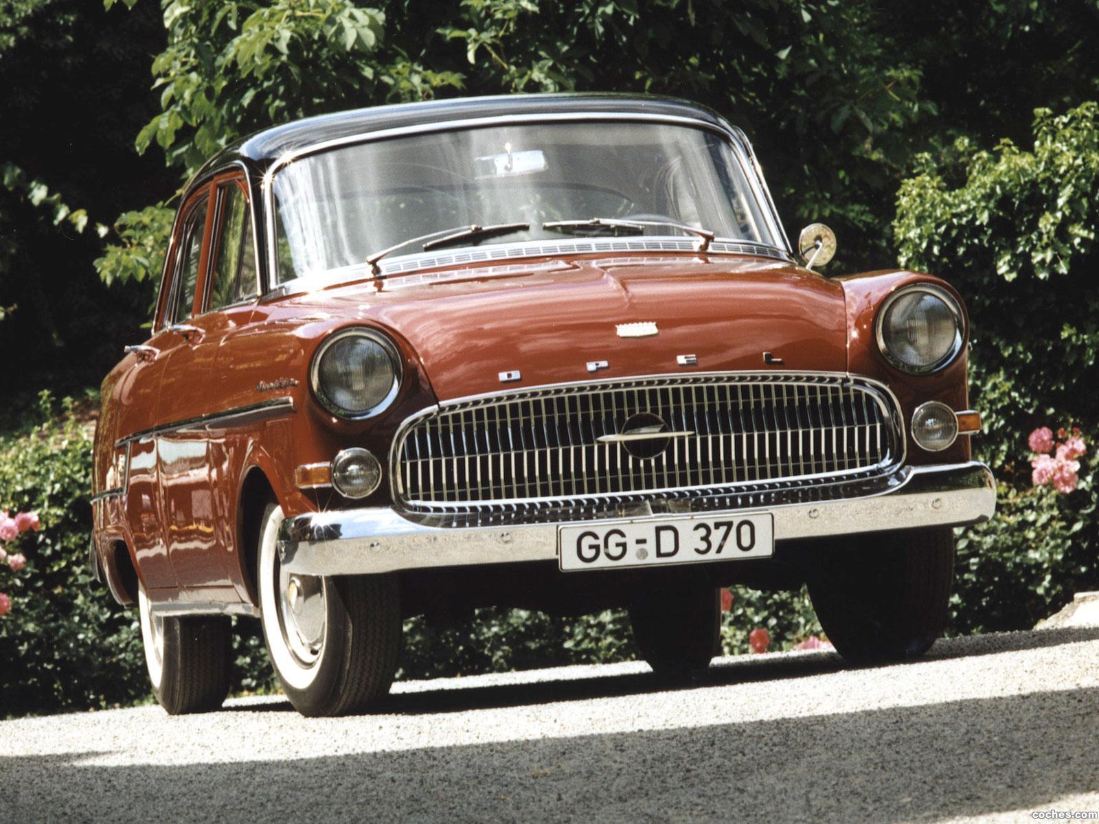 Foto 0 de Opel Kapitan 1956