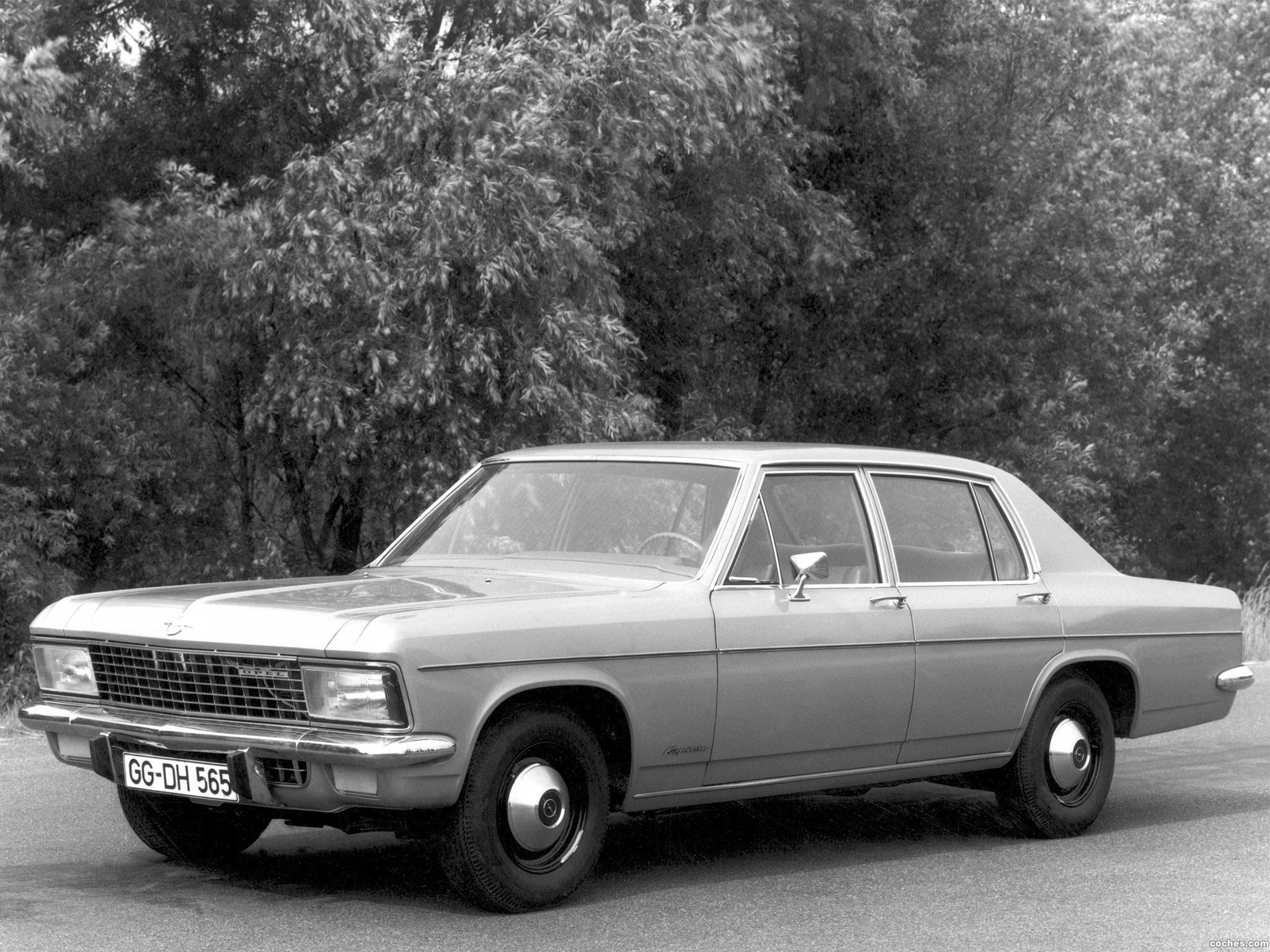 Foto 0 de Opel Kapitan B 1969