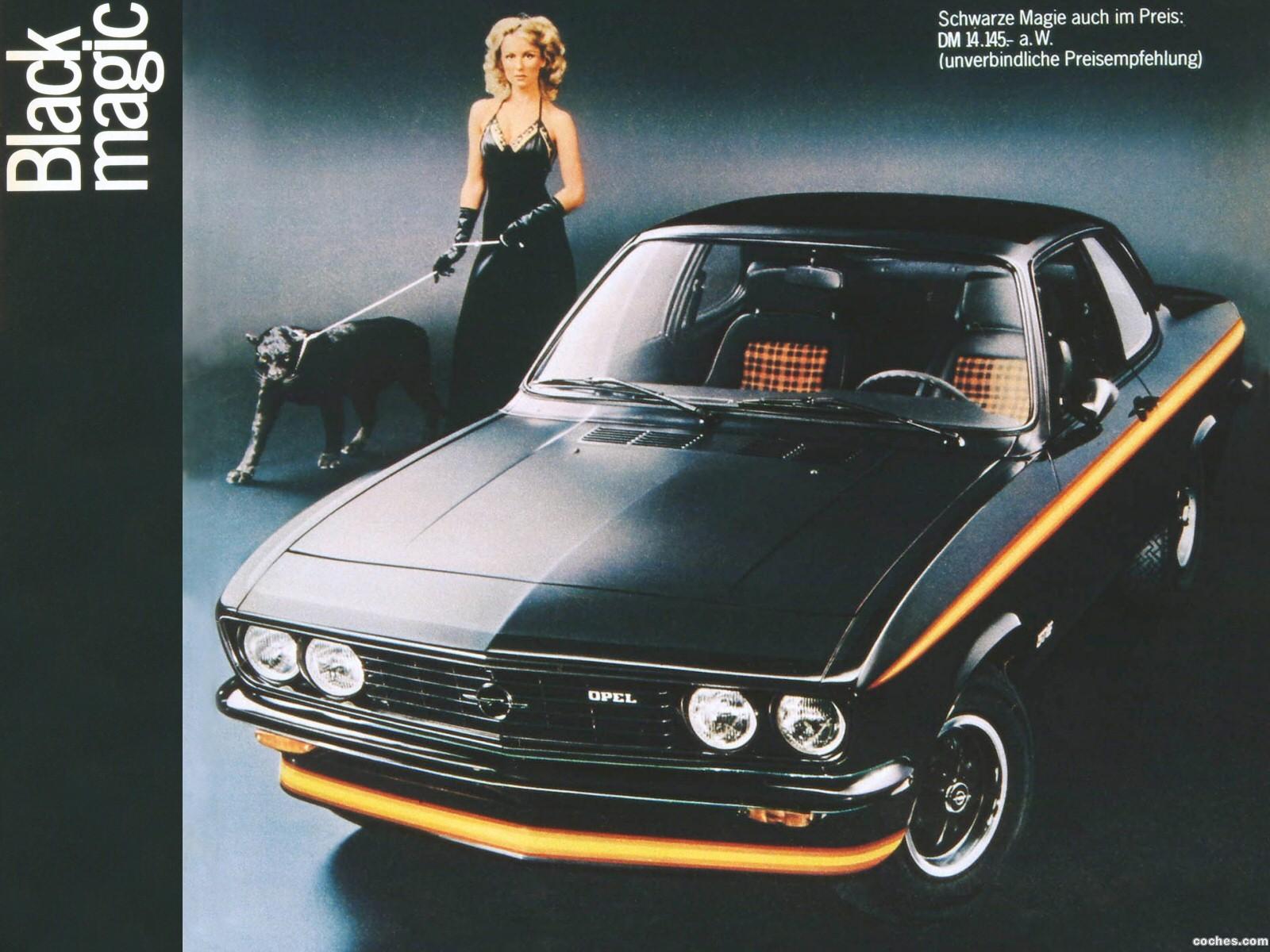 Foto 0 de Opel Manta A 1970
