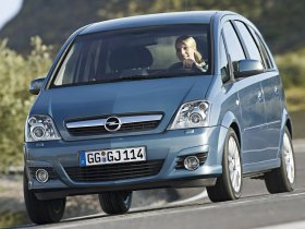 Ver foto 10 de Opel Meriva Facelift 2006