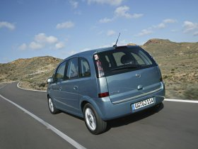 Ver foto 6 de Opel Meriva Facelift 2006