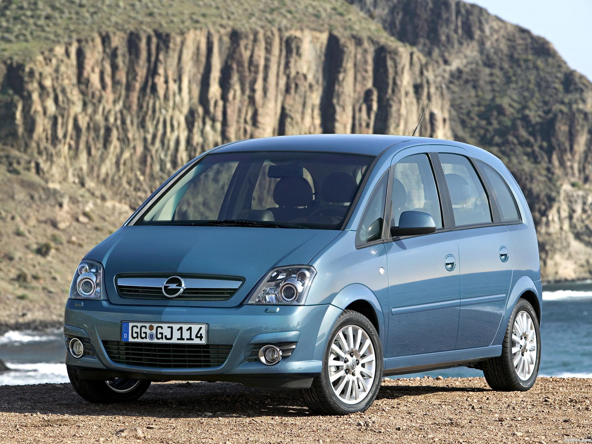 Foto 0 de Opel Meriva Facelift 2006