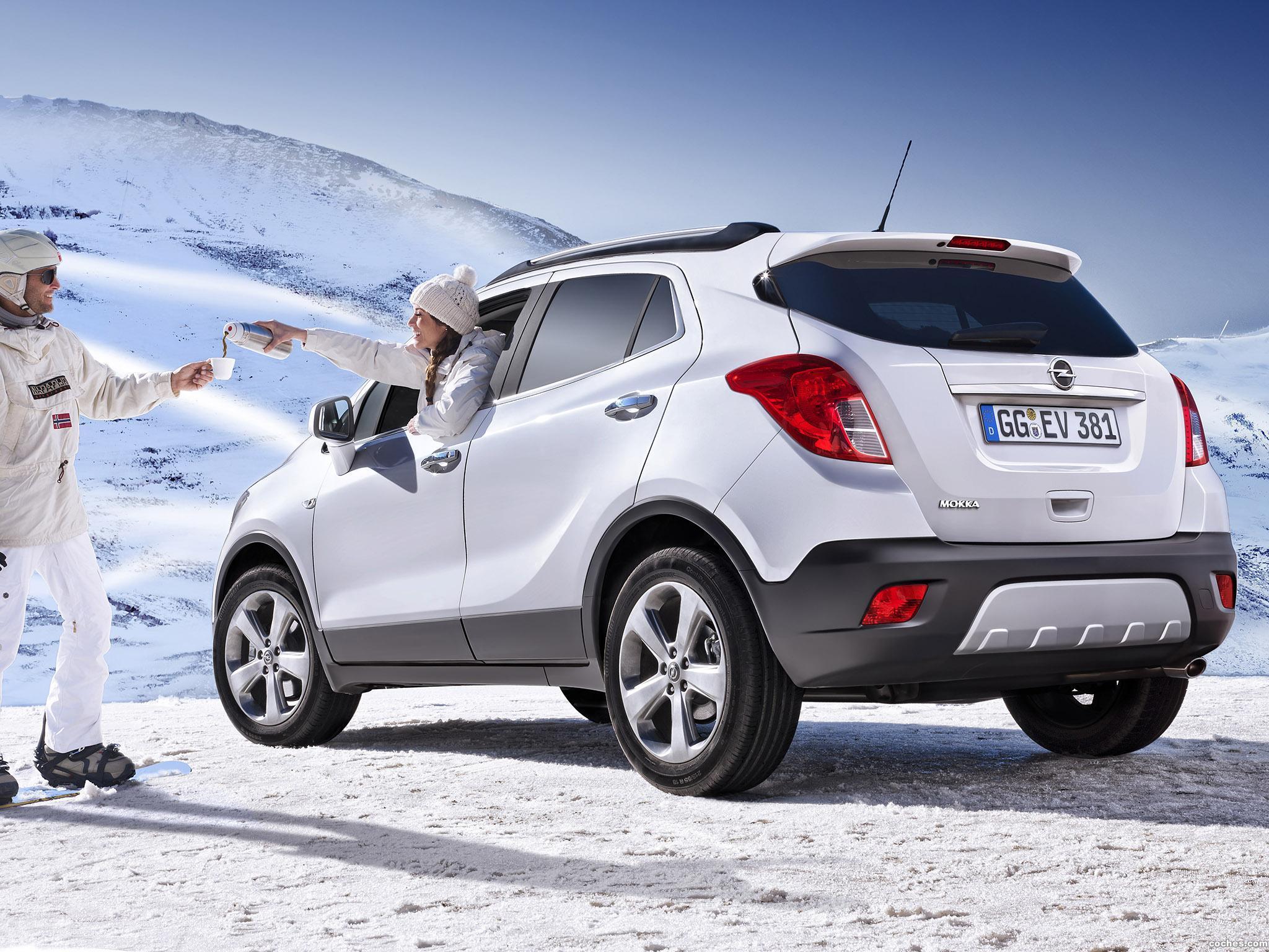 Foto 8 de Opel Mokka 2012