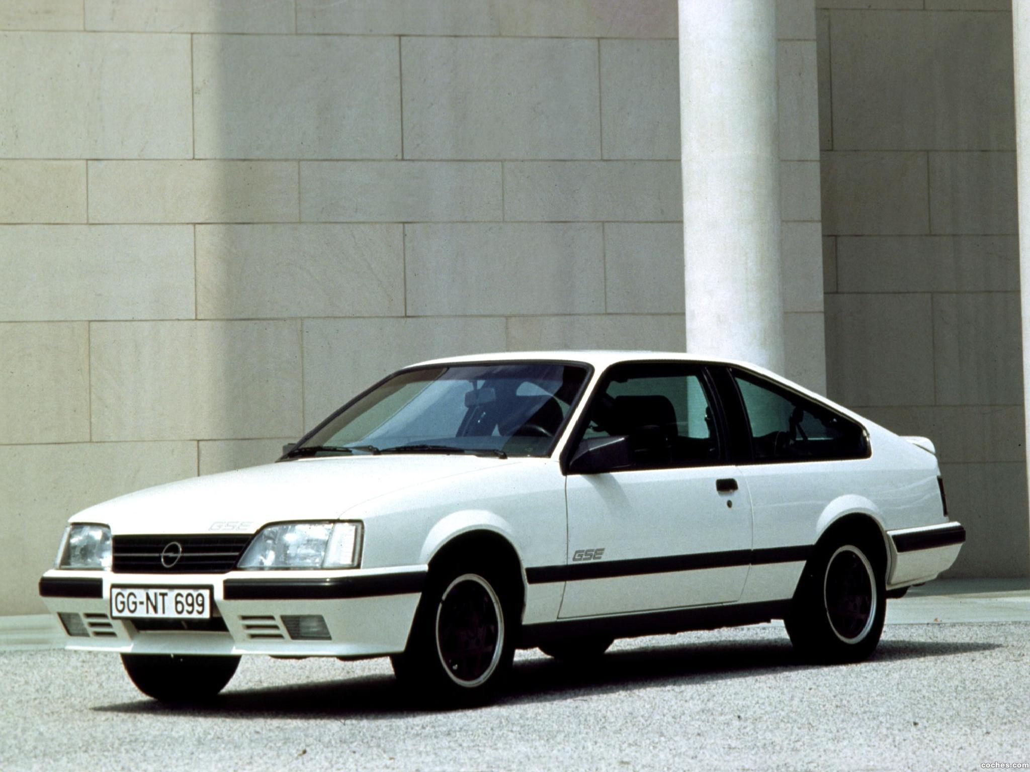 Foto 0 de Opel Monza GSE A2 1983