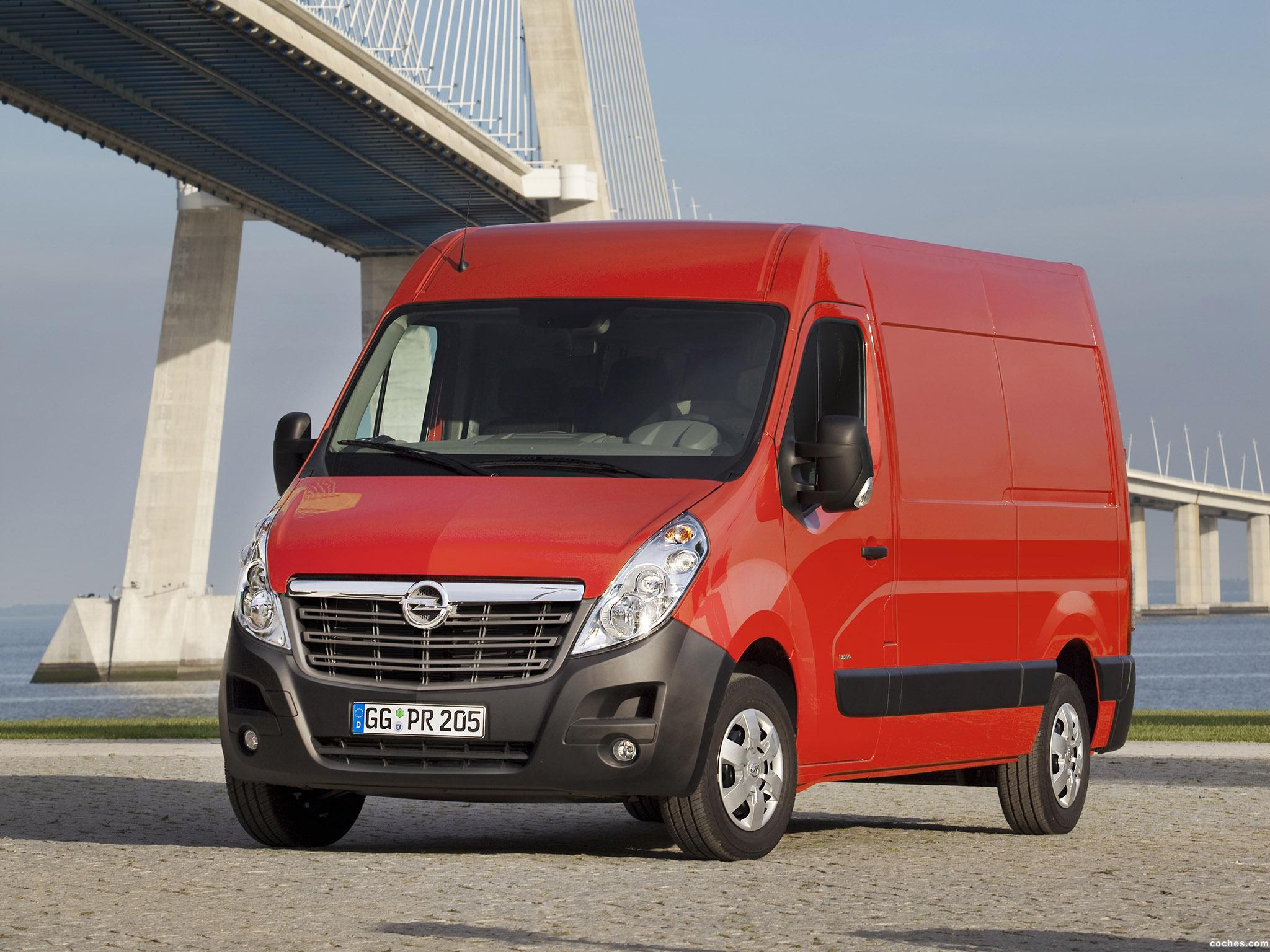 Foto 0 de Opel Movano (B) 2010