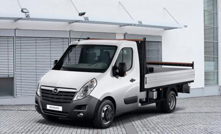 Opel Movano Ch.cb. 2.3cdti 125 L2h1 3500 E5