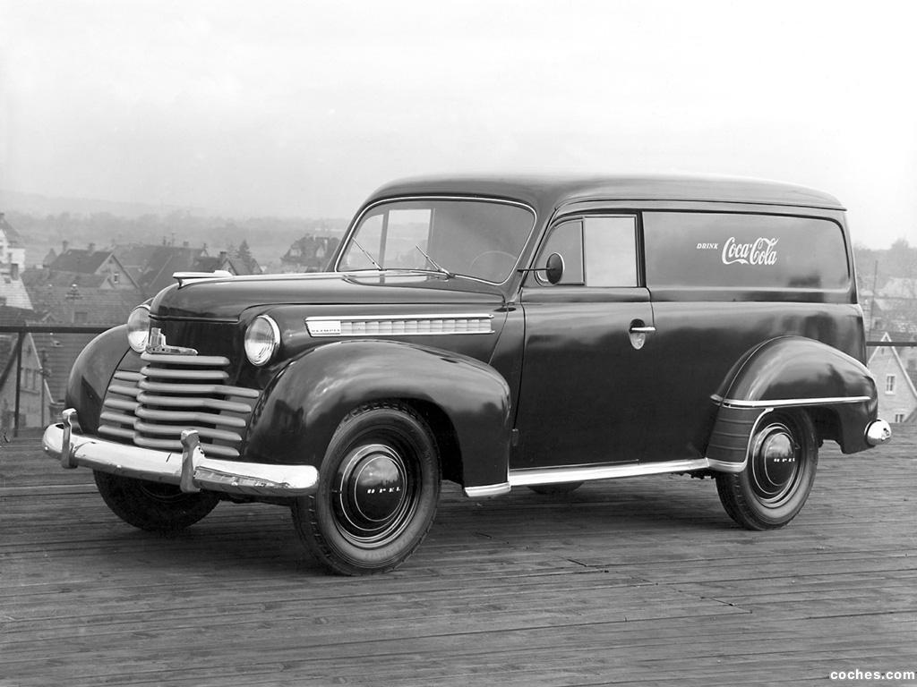 Foto 0 de Opel Olympia 1951