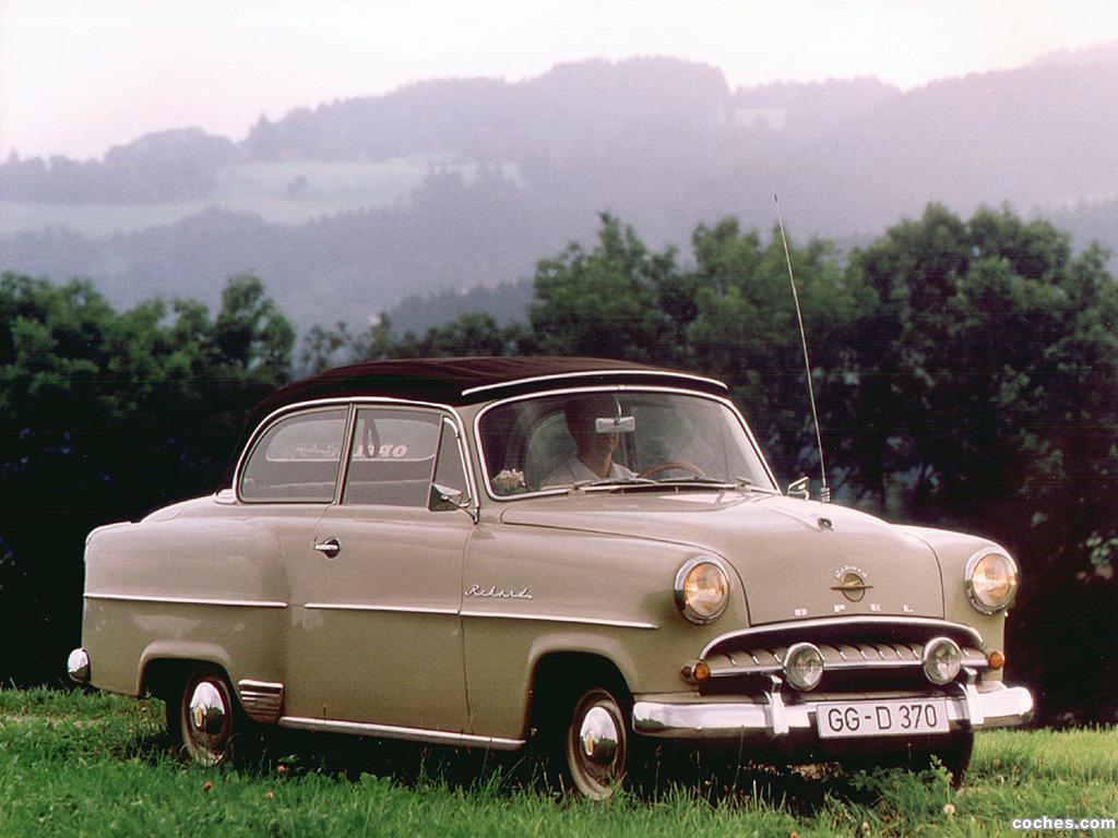 Foto 2 de Opel Olympia 1953