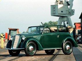Fotos de Opel Olympia Cabrio Limousine 1935