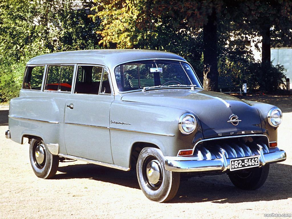 Foto 1 de Opel Olympia Caravan 1953